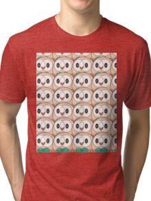 Rowlet (too many) Pokemon shirt Tri-blend T-Shirt