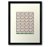 Rowlet (too many) Pokemon shirt Framed Print