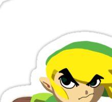 Link Vs Kid Goku 2 Sticker