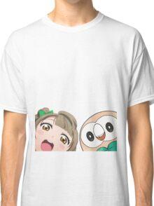 Kotori and Rowlet cornerface Classic T-Shirt