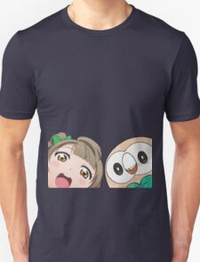 Kotori and Rowlet cornerface T-Shirt