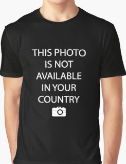 This Photo is not Available in your Country  Graphic T-Shirt