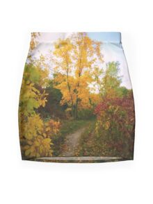 Autumn Trail Mini Skirt