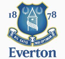 Everton fc Baby Tee