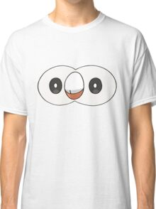 Rowlet Face (PNG) Classic T-Shirt