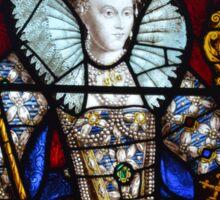 Queen Elizabeth I Stained Glass  Sticker