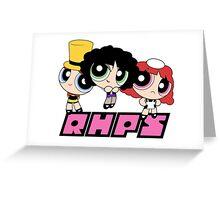 Rocky Horror Girls Greeting Card