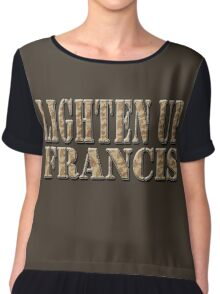 LIGHTEN UP FRANCIS - desert camo Chiffon Top