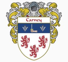 Carney Coat of Arms/Family Crest Kids Tee