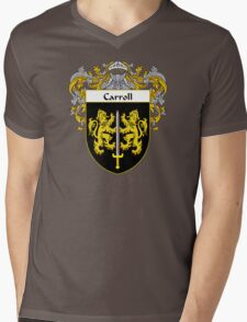 Carroll Coat of Arms/Family Crest Mens V-Neck T-Shirt
