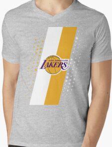 Los Angeles Lakers Mens V-Neck T-Shirt