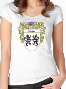 Carter Coat of Arms/Family Crest Women's Fitted Scoop T-Shirt