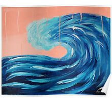 Storm Wave Poster