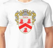 Casey Coat of Arms/Family Crest Unisex T-Shirt