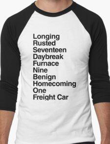 Trigger [black] Men's Baseball ¾ T-Shirt