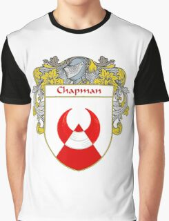 Chapman Coat of Arms/Family Crest Graphic T-Shirt