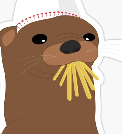 In-N-Out Otter Sticker