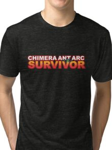 Chimera Ant Arc Survivor Tri-blend T-Shirt