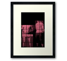 athlete collage_03 Framed Print