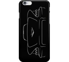 1958 Chevy Impala - stencil back iPhone Case/Skin