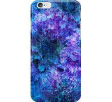Purple pink flower pattern rich style design art iPhone Case/Skin