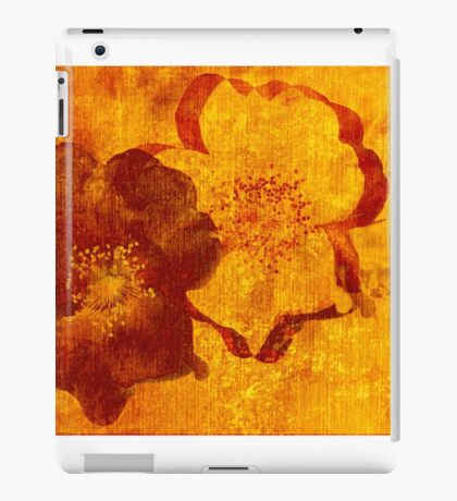 Cool, unique red yellow asian style art design iPad Case/Skin