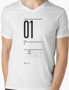 TEST 01 Mens V-Neck T-Shirt