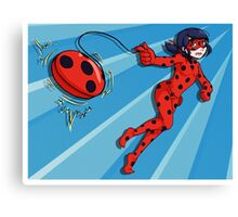 The Adventures of Miraculous Ladybug! Canvas Print