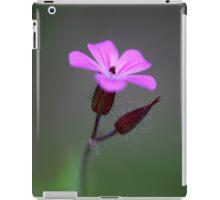 Flower of the Herb-Robert iPad Case/Skin