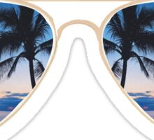 Sunset Sunglasses Sticker