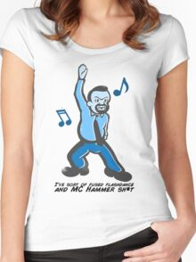 David Brent - The Office - Dance Women's Fitted Scoop T-Shirt
