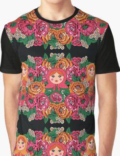 Russian Doll Print Graphic T-Shirt