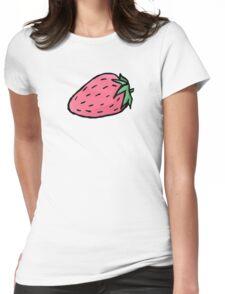 Strawbaby Womens Fitted T-Shirt