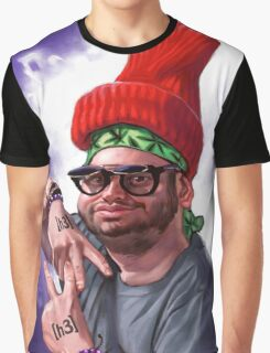 VAPE NATION Ethan Klein Caricature Graphic T-Shirt