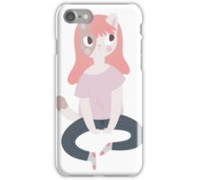 Cat Girl  iPhone Case/Skin