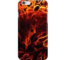 Glowing steel wool iPhone Case/Skin
