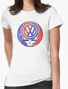 VW Grateful Dead Womens Fitted T-Shirt