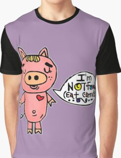 I am NOT Food Graphic T-Shirt