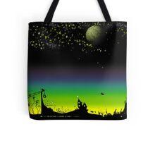 Sunset on a marvelous alien planet Tote Bag