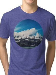Alaska Mountain Tri-blend T-Shirt