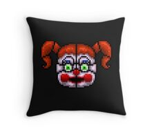 BABY - FNAF Sister location - Pixel Art Throw Pillow
