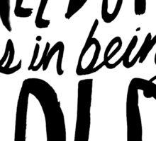 Robert Frost: Freedom Sticker