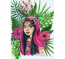 Lush Watercolor Painting Photographic Print