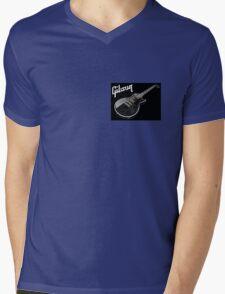 Gibson Les Paul Mens V-Neck T-Shirt