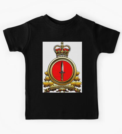 Special Operations Forces (Canadian) Command Badge Kids Tee