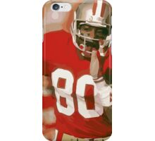 Jerry Rice iPhone Case/Skin