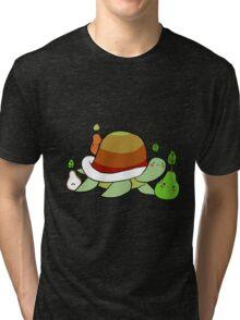 Pear Turtle Tri-blend T-Shirt