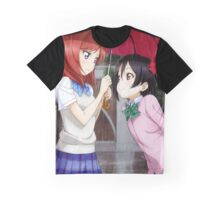 Love Live! School Idol Project - Rainy Day Graphic T-Shirt
