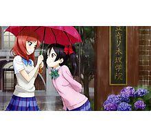 Love Live! School Idol Project - Rainy Day Photographic Print