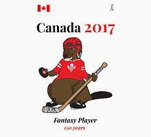 Celebrate Canada Day, Canada 150 and Canada 2017 First With our Canadian Hockey, Curling, Party, Cool and Heritage Beaver Shirt Selection! Unisex T-Shirt